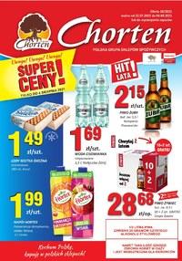 Gazetka promocyjna Chorten - Chorten Podlasie - oferta handlowa - ważna do 04-08-2021