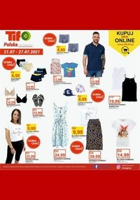 Gazetka promocyjna Tifo - Kupuj online w Tifo  - ważna do 27-07-2021
