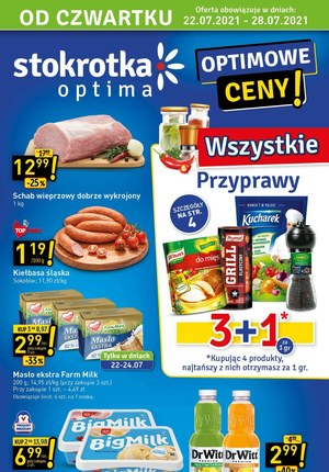 Gazetka promocyjna Stokrotka Optima - Optimowe ceny w Stokrotce!