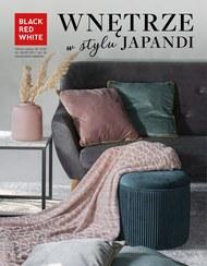 Wnętrze w stylu Japandi w Black Red White