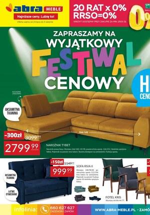 Gazetka promocyjna Abra - Festiwal cenowy w sklepach Abra