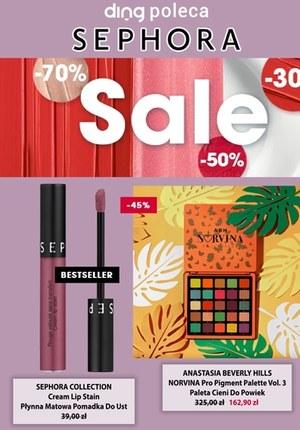 Gazetka promocyjna Sephora - Sephora - atrakcyjne zniżki na kosmetyki