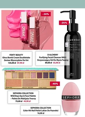 Sephora - atrakcyjne zniżki na kosmetyki