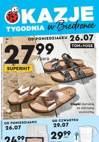 Gazetka promocyjna Biedronka - Okazje tygodnia w Biedronce - ważna do 11-08-2021