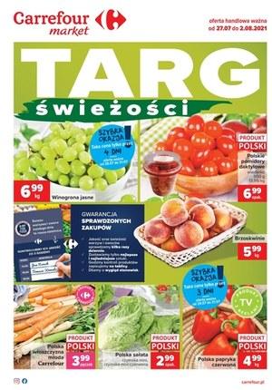 Gazetka promocyjna Carrefour Market - Targ Świeżości - Carrefour