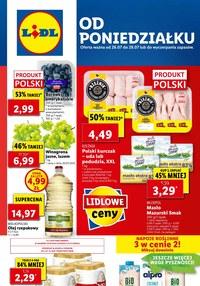 Gazetka promocyjna Lidl - Od poniedziałku w Lidlu - ważna do 28-07-2021