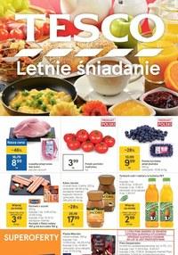 Gazetka promocyjna Tesco Centra Handlowe - Tesco - letnie śniadanie - ważna do 04-08-2021