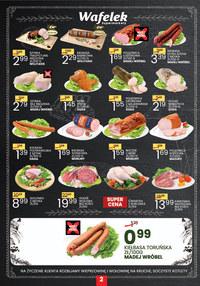 Gazetka promocyjna Wafelek - Nowe promocje w sklepach Wafelek!