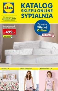 Lidl - katalog sypialnia