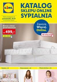 Gazetka promocyjna Lidl - Lidl - katalog sypialnia