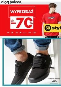 Gazetka promocyjna 50 style - Wyprzedaż do - 70% w 50 style!  - ważna do 09-08-2021