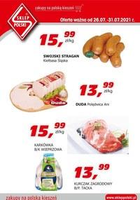 Gazetka promocyjna Sklep Polski - Sklep Polski - oferta handlowa