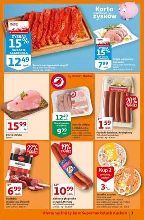 Auchan Supermarket - najnowsze promocje