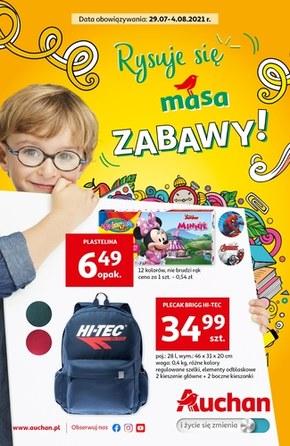 Rysuje się masa zabawy - Auchan Hipermarket