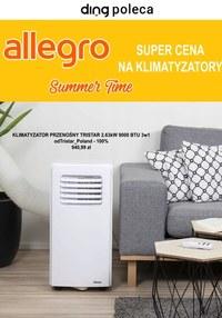 Gazetka promocyjna Allegro - Super ceny na klimatyzatory - Allegro - ważna do 11-08-2021