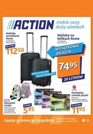 Gazetka promocyjna Action - Wyjątkowe okazje w Action!