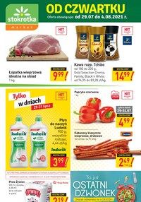 Gazetka promocyjna Stokrotka Market - Hity tygodnia w Stokrotka Market   - ważna do 04-08-2021
