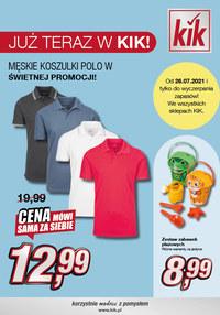 Gazetka promocyjna KIK - Już teraz w KIK!   - ważna do 15-08-2021