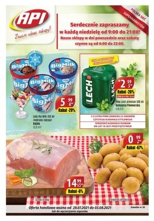Gazetka promocyjna Api Market - Hity cenowe w Api Market!