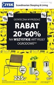 Jysk - rabaty do -60% na artykuły ogrodowe!