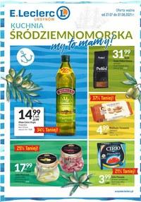 Gazetka promocyjna E.Leclerc - Kuchnia Śródziemnomorska w E.Leclerc Ursynów