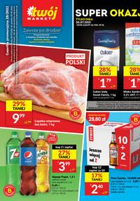 Gazetka promocyjna Twój Market - Twój Market blisko na - ważna do 03-08-2021