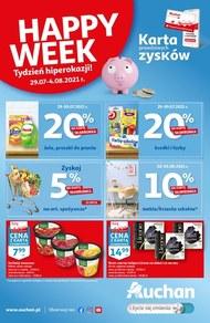 Happy Week - Skarbonka Auchan
