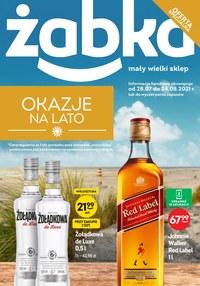 Gazetka promocyjna Żabka - Okazje na lato w Żabce   - ważna do 24-08-2021