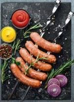 Kiełbaski na grilla BBQ