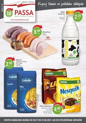 Gazetka promocyjna Passa - Passa - kupuj tanio w polskim sklepie
