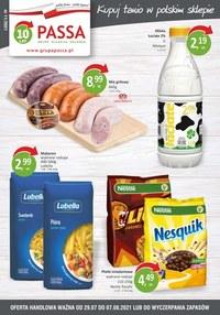 Gazetka promocyjna Passa - Passa - kupuj tanio w polskim sklepie - ważna do 07-08-2021