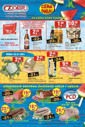 Oferta handlowa PSS Nowy Sącz
