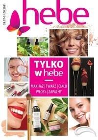Gazetka promocyjna Hebe - Poznaj nowe kosmetyki - Hebe - ważna do 31-08-2021
