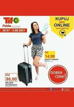 Gazetka promocyjna Tifo - Nowe promocje w Tifo!