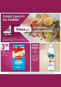 Gazetka promocyjna Frisco - Frisco - kierunek orzeźwienie! - ważna do 10-08-2021