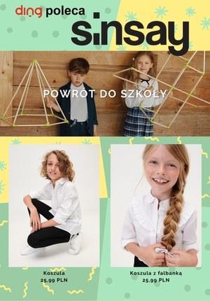 Gazetka promocyjna Sinsay - Powrót do szkoły z Sinsay!