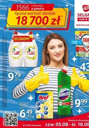 Gazetka promocyjna Selgros Cash&Carry - Promocje na lato w Selgrosie