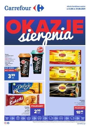 Gazetka promocyjna Carrefour - Carrefour - okazje sierpnia!