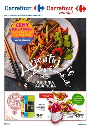 Gazetka promocyjna Carrefour Market - Carrefour Market - kuchnia azjatycka