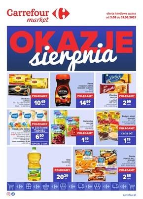 Okazje sierpnia w Carrefour Market