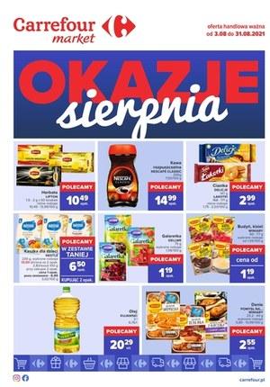 Gazetka promocyjna Carrefour Market - Okazje sierpnia w Carrefour Market