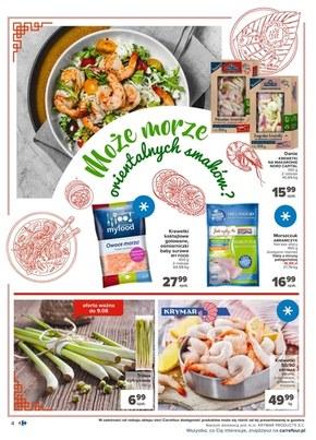Kuchnia azjatycka w Carrefour