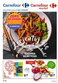 Gazetka promocyjna Carrefour - Kuchnia azjatycka w Carrefour