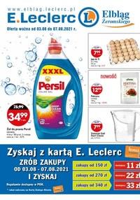 Gazetka promocyjna E.Leclerc - E.Leclerc Elbląg - nowa oferta promocyjna