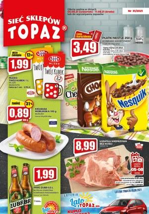 Gazetka promocyjna Topaz - Topaz - sprawdź letnie promocje!