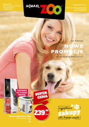 Gazetka promocyjna Aquael Zoo - Aquael Zoo - sprawdź nowe promocje