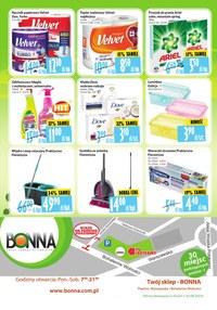 Gazetka promocyjna Bonna - Sierpniowe promocje w Bonna
