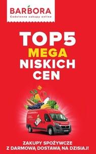 Top 5 niskich cen w Barbora