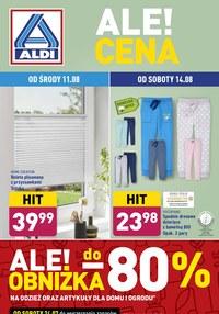 Gazetka promocyjna Aldi - Aldi - obniżki nawet do 80%