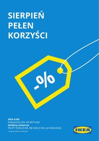 Gazetka promocyjna IKEA - Sierpień pełen korzyści w IKEA Łódź  - ważna do 31-08-2021